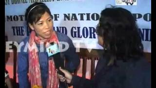 MARY KOM: AN EXCLUSIVE INTERVIEW TO XtraTime AT MANIPUR
