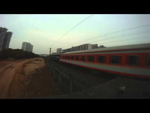 Trains in Wuhan, Hubei province, China