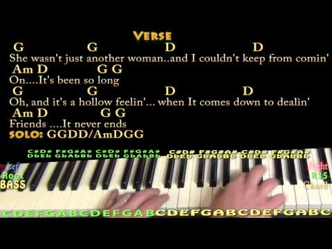 Tequila Sunrise (Eagles) Piano Cover Lesson with Chords/Lyrics