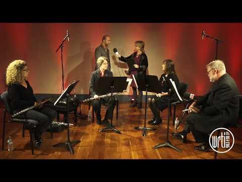 Philadelphia Flute Quartet  Live From The WRTI 90 1 Performance Studio 2