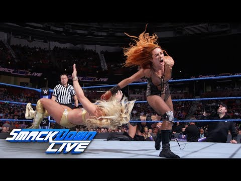 Charlotte Flair & Becky Lynch vs. Mandy Rose & Sonya Deville: SmackDown LIVE, Aug. 14, 2018