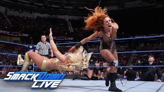 Charlotte Flair & Becky Lynch vs. Mandy Rose & Sonya Deville: SmackDown LIVE, Aug. 14, 2018