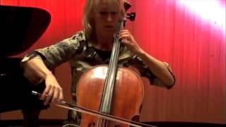 Olli Virtaperko: Kuulas for violoncello solo (2012). Performed by Eeva Rysä.