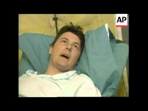 KOSOVO: WOUNDED IRISH UN WORKER LATEST