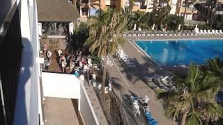 Hotel marvell ibiza sun bed race