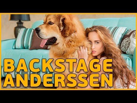 Backstage съемка рекламного имиджа мебельной фабрики Anderssen