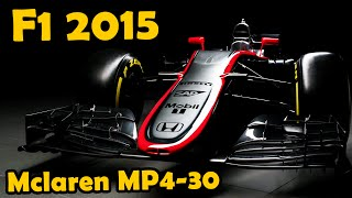 F1 Mclaren Honda MP4-30 Analysis - Lets Talk F1 2015