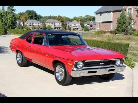 1970 Chevrolet Nova Classic Muscle Car For Sale In Mi Vanguard Motor