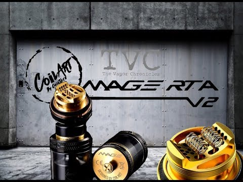 The MAGE RTA V2 By CoilArt + Giveaway