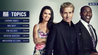 UNDISPUTED Audio Podcast (5.22.17) with Skip Bayless, Shannon Sharpe, Joy Taylor | UNDISPUTED thumbnail