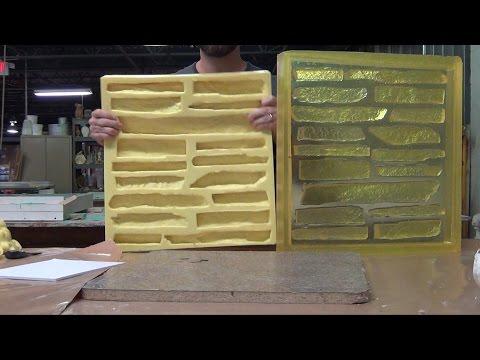 Concrete Mold Making: Veneer Stone Master Mold