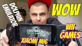 Call of Duty Modern Warfare running on Android smartphone/Dolphin Emulator/Reflex Wii game Gameplay