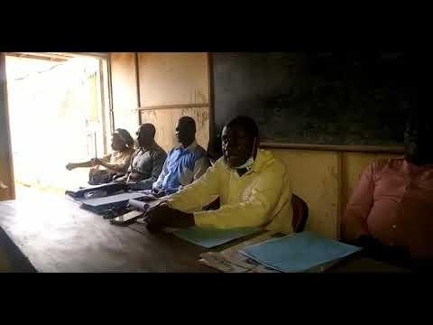 Point de presse du Président de l'ANOSILIPE YIMGA MOUSSA