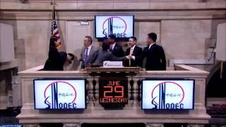 29 June 2011 Sinopec rings NYSE Opening Bell
