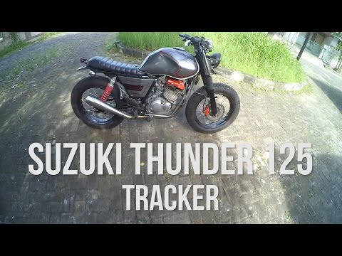 #RIDINGIMPRESSION | THUNDER 125 TRACKER | CUSTOM | MOTOVLOG