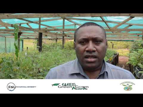 GUPES Green Gown Awards 2016 – Asia and the Pacific  – Fiji National University – Finalist
