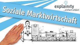 Soziale Marktwirtschaft einfach erklärt (explainity® Erklärvideo)