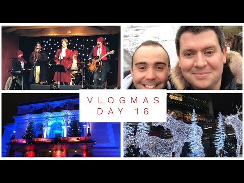 Vlogmas Day 16 - 2017 - Stockholm, Sweden.  Vasa Museum, Skansen and Christmas Markets
