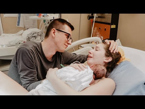 *EMOTIONAL LIVE BIRTH* Of Our Baby Girl After Infertility! (Very Raw Labour & Delivery)