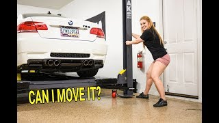 Can You MOVE a BendPak 4-Post Lift With a Car On Top?