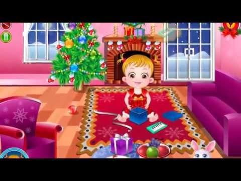 Малышка Хейзел: Рождество - игра для девочек