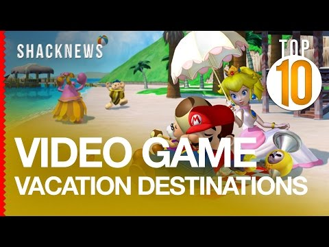 Top 10 Video Game Vacation Destinations