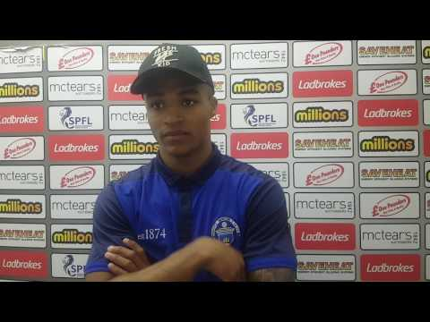 Jai Quitongo: Edinburgh City post-match reaction