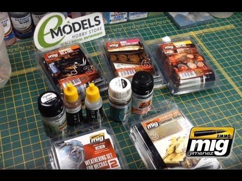 Ammo of Mig Advanced Weathering Tutorial Part 1 - www.emodels.co.uk