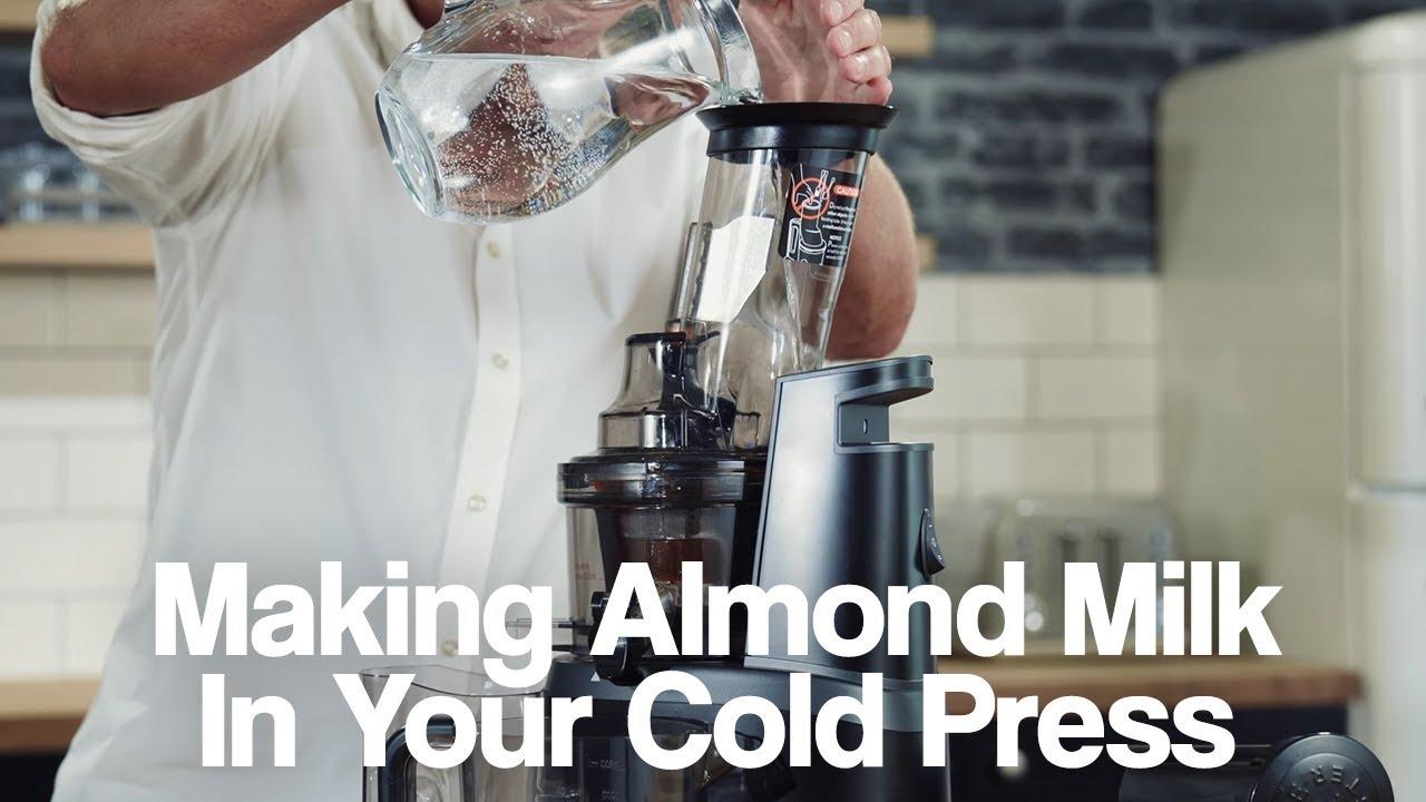 How to Make Almond Milk in a Retro Cold