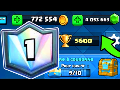 Clash Royale - INCROYABLE 1er Mondial en DIRECT ??