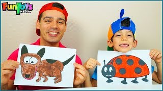 Painting Animals with Jason, Education for kids