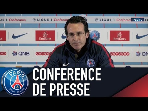 Paris Saint-Germain Press Conference PARIS SAINT-GERMAIN Vs FC NANTES