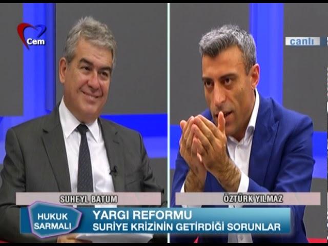 Süheyl Batum İle Hukuk Sarmalı // Öztürk Yılmaz (6 KAsım 2019)