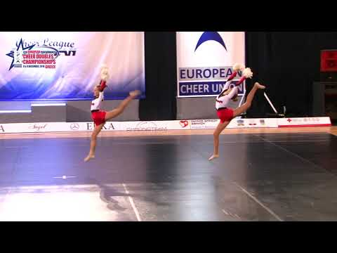 86 JUNIOR DOUBLE FREESTYLE POM Šnídlová   Vostrá POWER CHEERLEADERS CZECH REPUBLIC