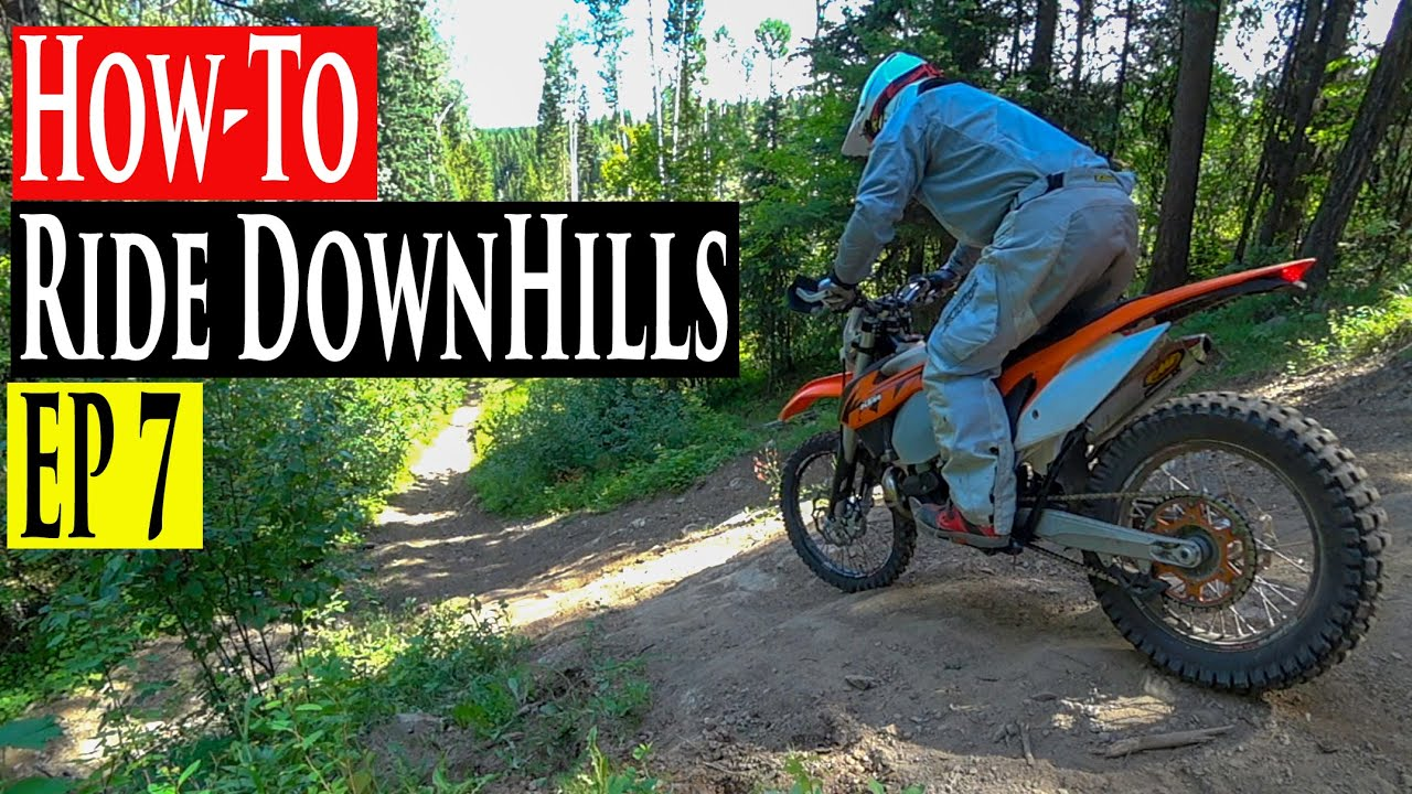 enduro riding tips series ep 7 how to ride downhills descend on a dirt bike enduro lessons. Black Bedroom Furniture Sets. Home Design Ideas