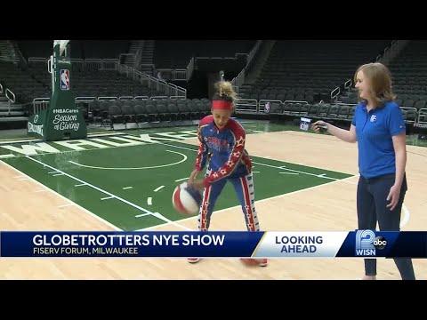 Harlem Globetrotters to perform at Fiserv Forum on NYE