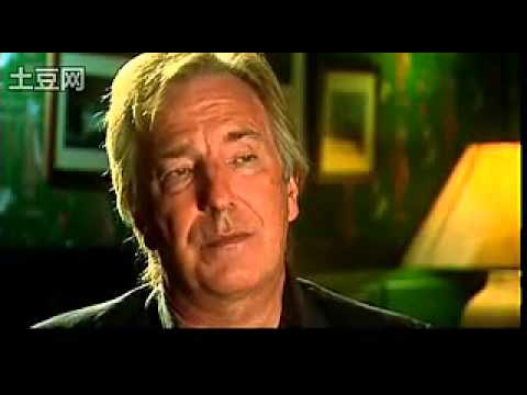 Alan Rickman interview for Perfume - The Story of a Murderer