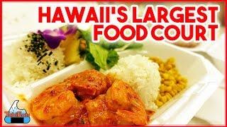 Amazing Food Court in Hawaii (MAKAI MARKET-ALA MOANA SHOPPING CENTER)