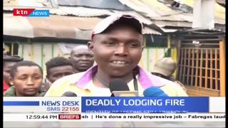 3 killed as fire razes city lodging near Bus station Nairobi