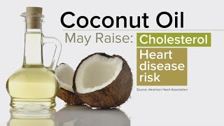"Coconut oil has ""undeserved health halo,"" dietitian says"
