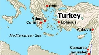 Ephesus Map Location