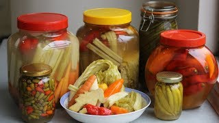 Homemade Chinese Pickle Recipe -The Science Behind The Fermented Food [泡菜]