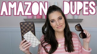THE BEST AMAZON DESIGNER DUPES | Sarah Brithinee