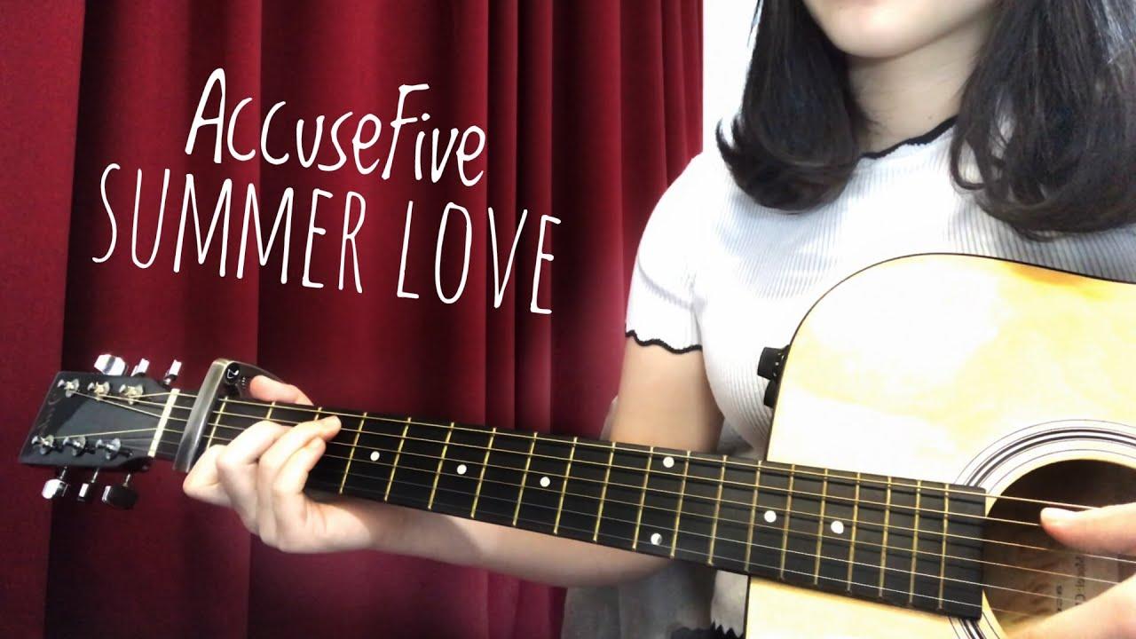 【COVER】 告五人 - 愛在夏天 | 附吉他譜 - YouTube