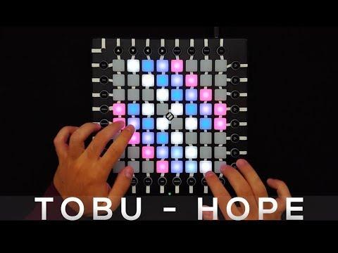 Tobu - Hope - Launchpad Pro Cover