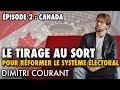 CANADA : TIRAGE AU SORT de 160 CITOYENS pour réformer le système électoral (2001-2005)