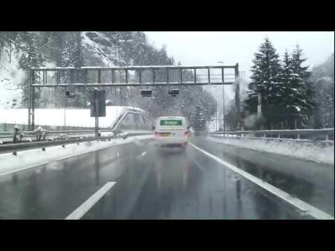 DRIVEWAY to Gotthard Tunnel 17km Switzerland