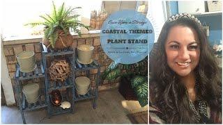 Weekender - Diy Coastal-themed Plant Stand