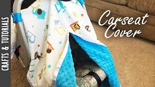 Tutorial: Carseat Cover, Step by Step Sewing DIY - The290ss