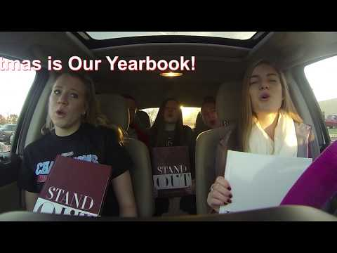 All I want for Christmas is my Yearbook- Carpool Karaoke